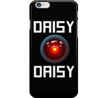 DAISY DAISY - HAL 9000 iPhone Case/Skin