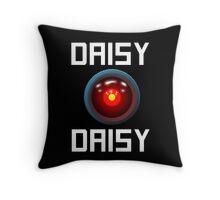 DAISY DAISY - HAL 9000 Throw Pillow