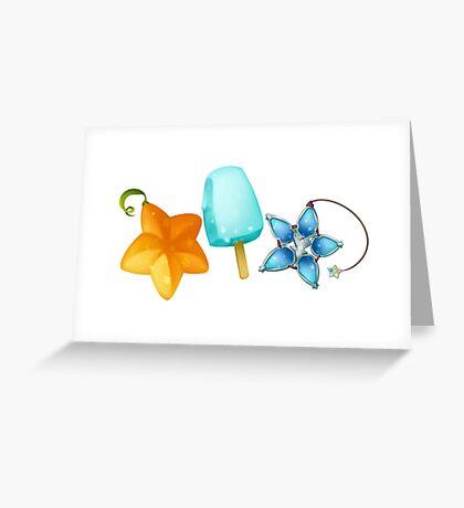 KH Trios Greeting Card
