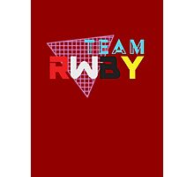 Team RWBY 80s Style Photographic Print