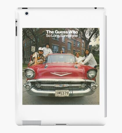 The Guess Who Carl Dixon Bachman Cummings 7 iPad Case/Skin