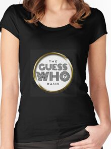 The Guess Who Carl Dixon Bachman Cummings 9 Women's Fitted Scoop T-Shirt