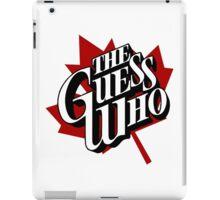 The Guess Who Carl Dixon Bachman Cummings 10 iPad Case/Skin