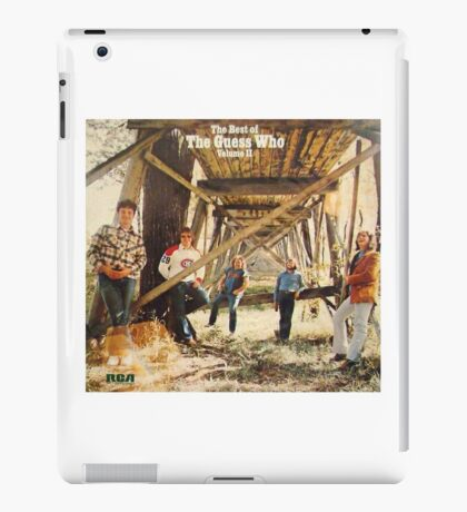 The Guess Who Carl Dixon Bachman Cummings 11 iPad Case/Skin