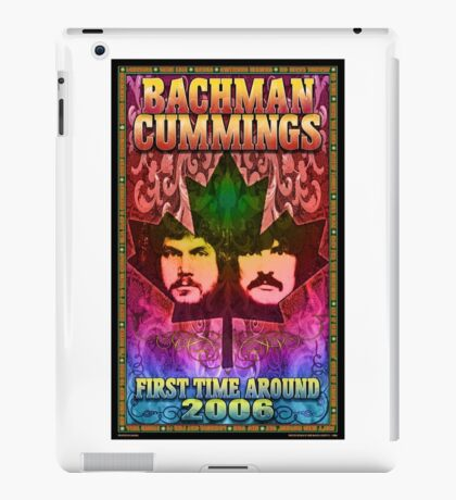 The Guess Who Carl Dixon Bachman Cummings 12 iPad Case/Skin