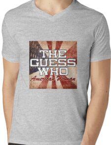The Guess Who Carl Dixon Bachman Cummings 15 Mens V-Neck T-Shirt