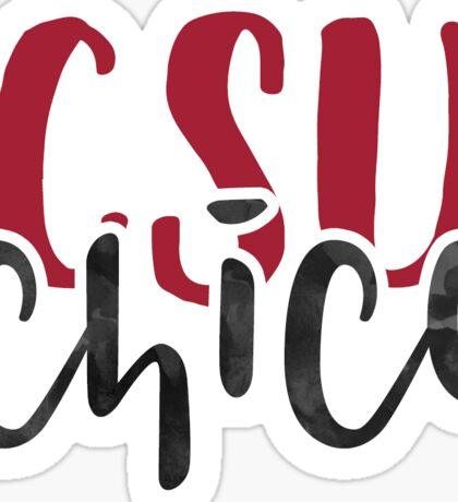 CSU Chico - Style 1 Sticker