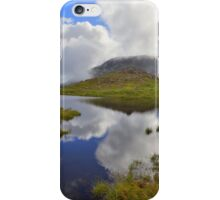 The Lake District: Tarn Reflections on Scafell iPhone Case/Skin