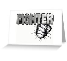 Fist Fighter Greeting Card