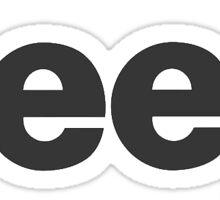 Jeep Black Sticker
