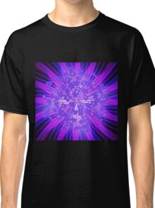 Lavender Flowers in the Sky Classic T-Shirt