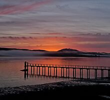 Sunrise Tomales Bay, CA, 2009 by Scott Johnson