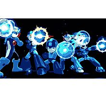 Mega-Man Generations Photographic Print