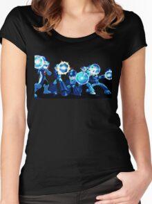 Mega-Man Generations Women's Fitted Scoop T-Shirt