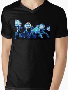 Mega-Man Generations Mens V-Neck T-Shirt