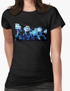 Mega-Man Generations Womens Fitted T-Shirt