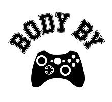 Body By Video Games Photographic Print
