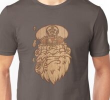 Captain Salty on Wood. Unisex T-Shirt