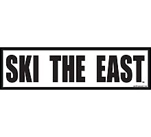 Ski The East Photographic Print
