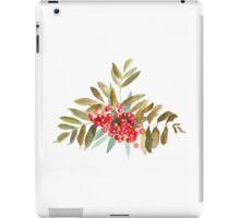 Rowan Berries, Watercolor iPad Case/Skin