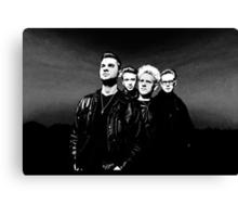 Depeche Mode : 90's Dave, Alan, Martin, Andy Digitalpaint 2 Canvas Print