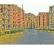 A Taste Of Venice In London Photographic Print