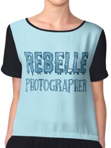 Rebelle Photographer Chiffon Top