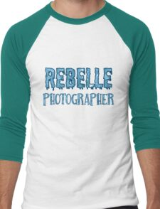 Rebelle Photographer Men's Baseball ¾ T-Shirt