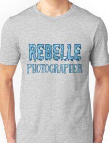Rebelle Photographer Unisex T-Shirt