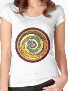Wholeness Women's Fitted Scoop T-Shirt