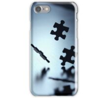Falling jigsaw pieces iPhone Case/Skin
