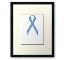 Esophageal Cancer Awareness ribbon Framed Print