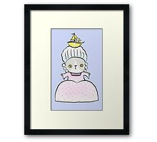 Marie Antoincatty Framed Print