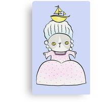 Marie Antoincatty Canvas Print