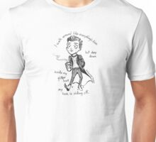 Sock Misfortunes Unisex T-Shirt