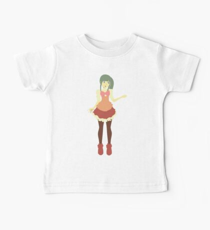 Gothic Anime Girl Vector Baby Tee