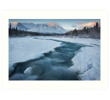 Quill Creek, Yukon Art Print