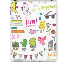 Fun Doodles I iPad Case/Skin