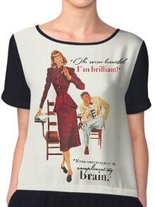 Brains & Beauty Chiffon Top