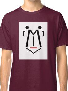 Letter Face_M Classic T-Shirt