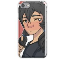 Pigtail Keith iPhone Case/Skin