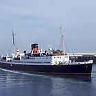The Former Isle of Man Steam Packet ferry Mona's Isle by John Morris