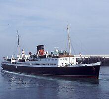 The Former Isle of Man Steam Packet ferry Mona's Isle by John Morris