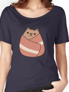 Pupsheen Wrapped in Bacon Women's Relaxed Fit T-Shirt