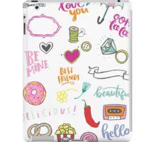 Fun Doodles III iPad Case/Skin