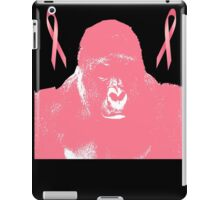 harambe goes pink for breast cancer awareness iPad Case/Skin
