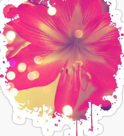 Secret Garden   Pink tigress  Sticker