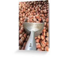 Pound of acorns  Greeting Card