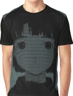 Lain ASCII - Inverted Graphic T-Shirt