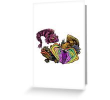 SARCASTIC FRINGEHEAD Greeting Card